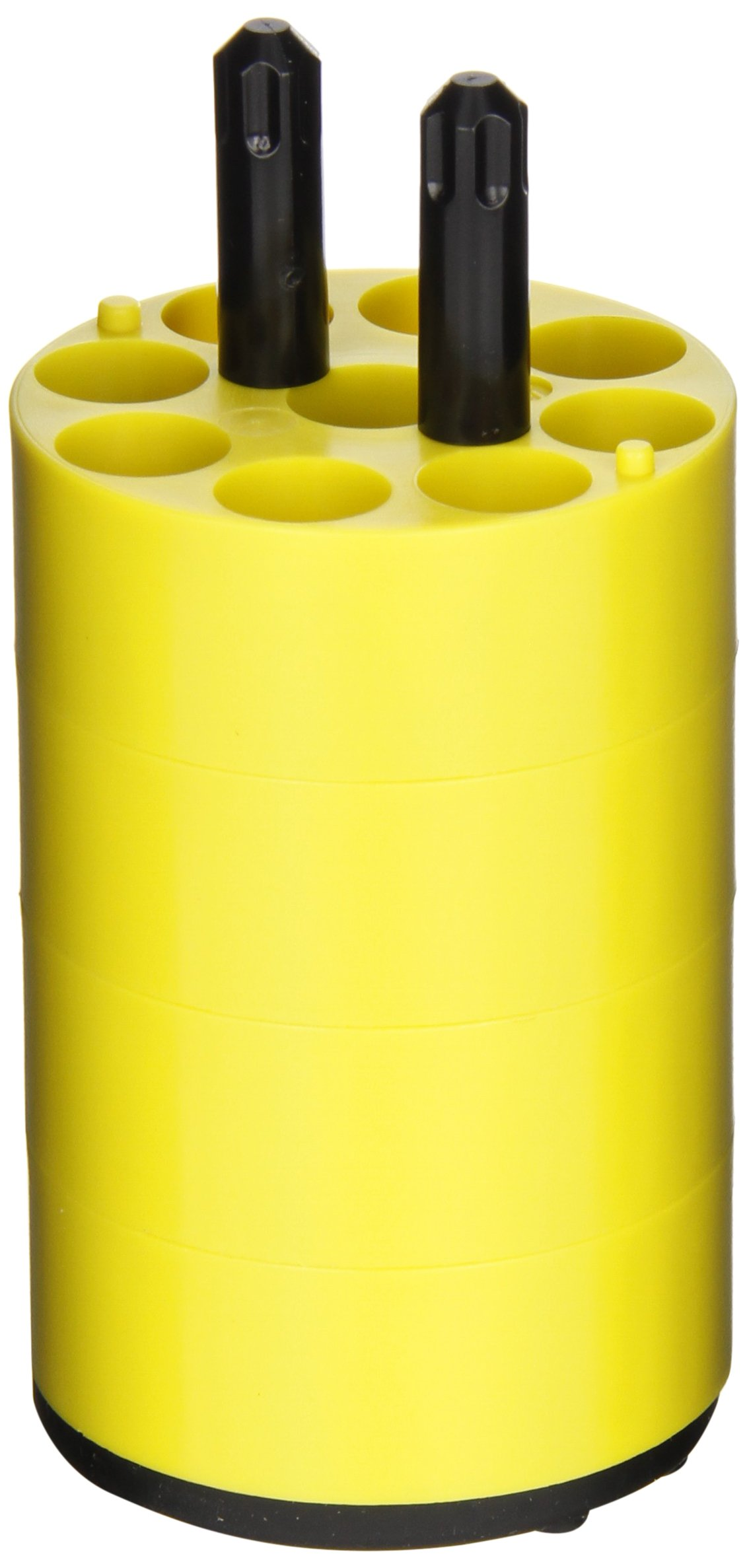 Thermo Scientific Adapter, 9 x 7mL DIN Standard, Yellow