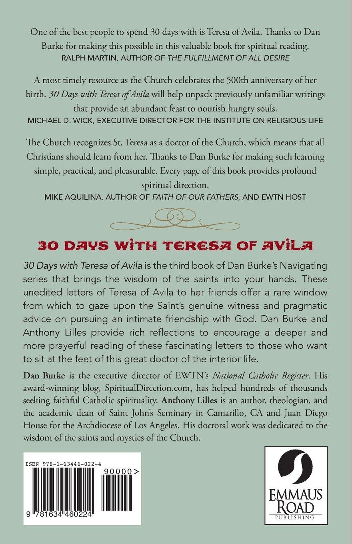 30 Days with Teresa of Avila: Daniel Burke, Anthony Lilles: 9781634460224:  Amazon.com: Books