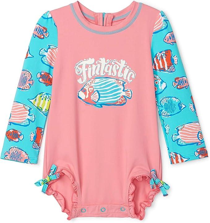 Hatley Baby-M/ädchen Rash Guard One Piece Einteiliger Badeanzug