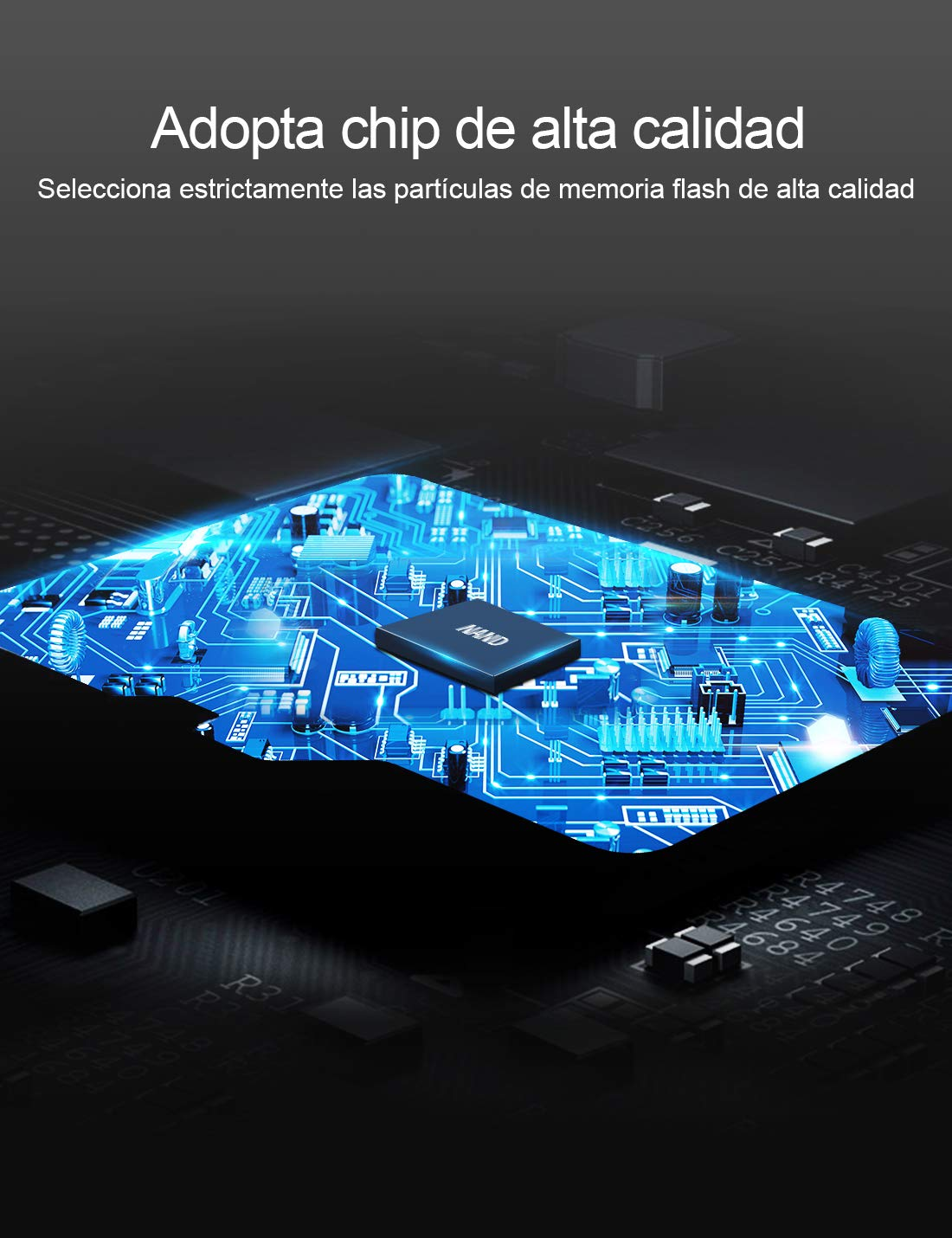 UHS-I Velocidad de Lectura hasta 100 MB//s A1, U3, C10, V30, 4K, 667X Tarjeta Memoria microSDXC Dashcam Gopro Netac Tarjeta de Memoria de 128GB Tarjeta TF para M/óvil Switch C/ámara Deportiva