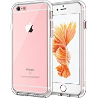 JETech Case for Apple iPhone 6 Plus and iPhone 6s Plus, Shock-Absorption Bumper Cover, Anti-Scratch Clear Back, HD Clear