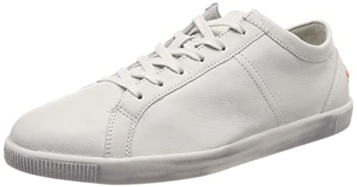 Softinos Tom Smooth, Sneaker Uomo, Bianco, 41 EU