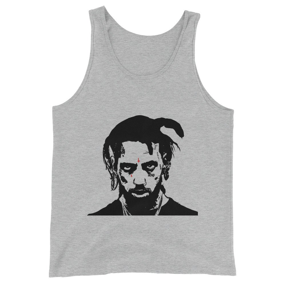 Unisex Babes /& Gents Yungxrist from uicideboy suicideboys Grey Tank Top