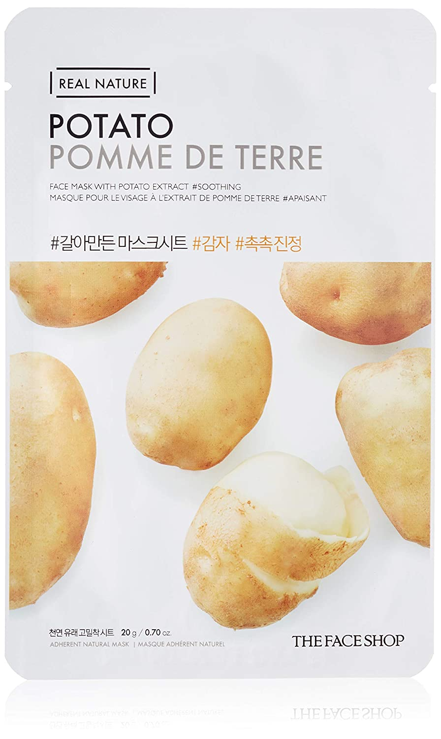THE FACE SHOP Real Nature Mask Sheet Potato