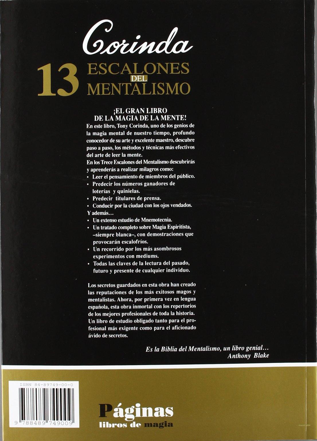 LIBRO LOS 13 ESCALONES DEL MENTALISMO PDF DOWNLOAD