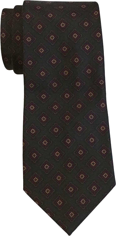 Polo Ralph Lauren - Corbata con estampado de medallón, color verde ...