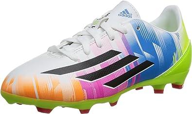 adidas F10 TRX FG J Messi - Botas de fútbol para niño