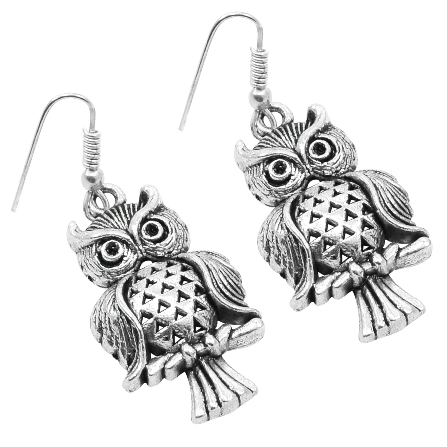 Saamarth Impex 925 Silver Plated Dangle Earring For Women /& Girls PG-103902