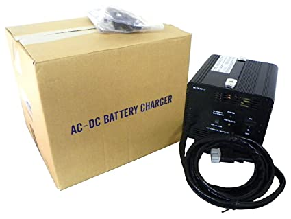 Amazon.com : 48 Volt Golf Cart Battery Charger for EZ-GO RVX : Golf on used club car golf cart, ezgo 36 volt golf cart, ezgo 48 volt conversion kit,