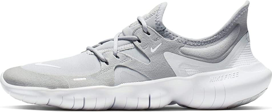 mineral oración Pantera  Amazon.com | Nike Women's Free RN 5.0 Running Shoe Wolf Grey/White/Pure  Platinum Size 10 M US | Road Running