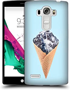 Head Case Designs Officially Licensed Paul Fuentes Mountain Ice Cream Junk Food Hard Back Case Compatible with LG G4 Beat / G4s / G4 s / H735