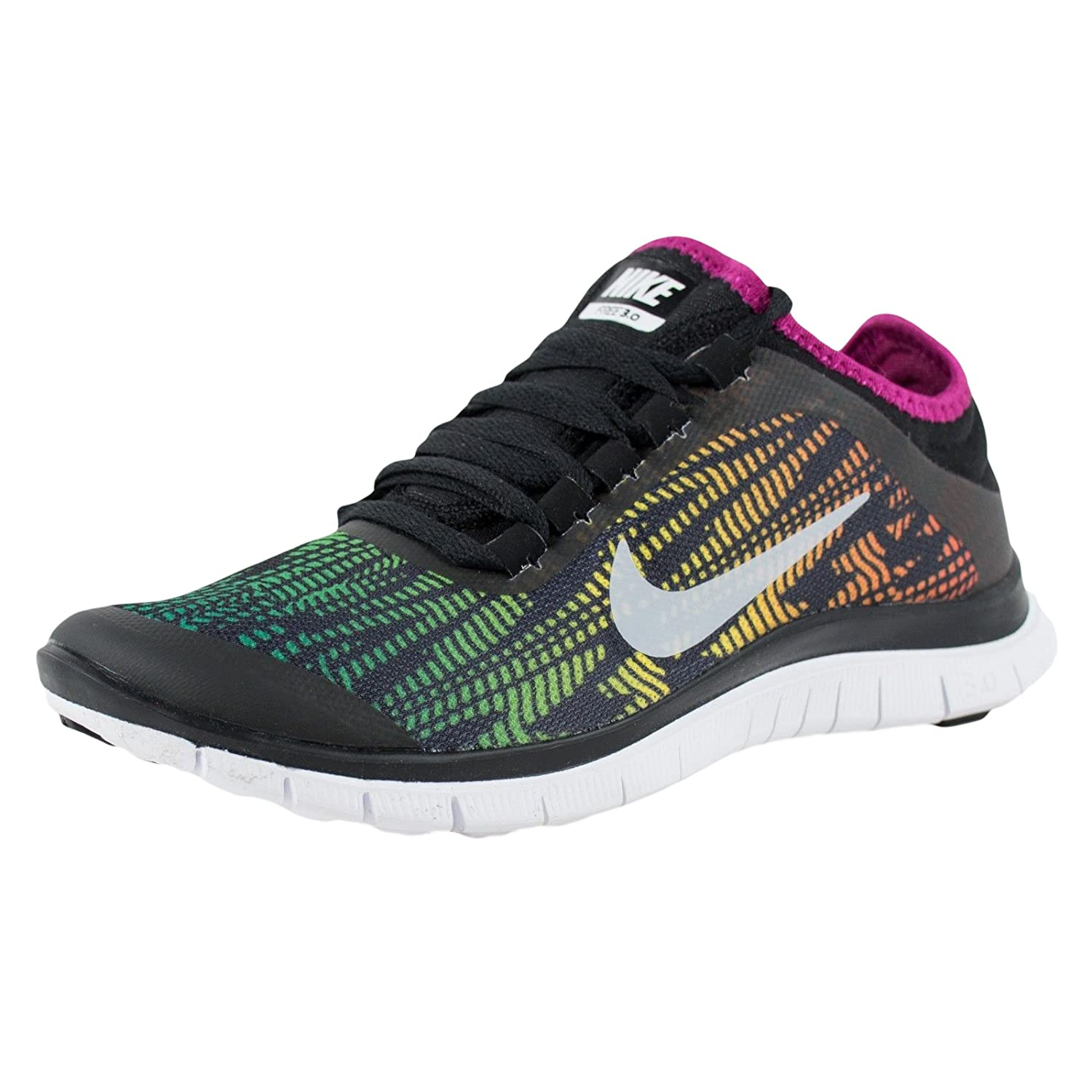 new concept 8528f a0312 Amazon.com   Nike Free 3.0 V5 Pnt Running Women s Shoes Size 5   Road  Running