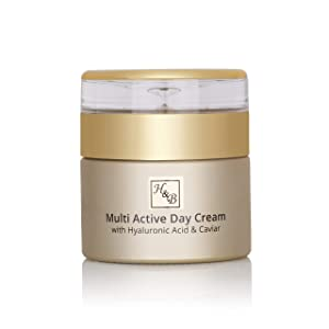 H&B Dead Sea Premium Line Multi Active Day Cream With Hyaluronic Acid & Caviar 50ml/1.76fl.oz …