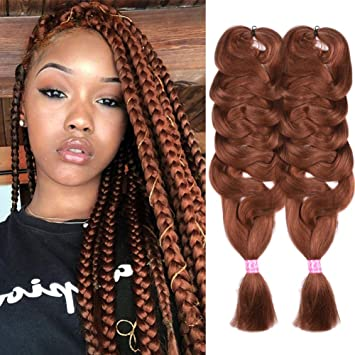 Xccoco Kanekalon Hair Synthetic Crochet Braids Ombre Jumbo Braiding Hair 2 3 4 Tone Color Hair Extensions Skilful Manufacture Hair Extensions & Wigs Hair Braids