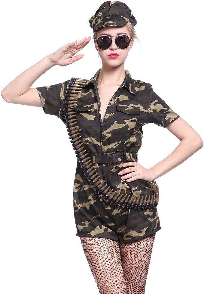 Amazon.com: Disfraz militar de camuflaje para soldado: Clothing