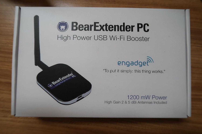 BearExtender - Amplificador USB WiFi para Microsoft Windows