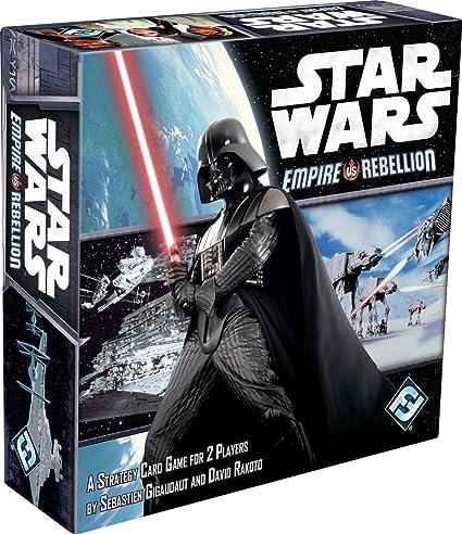 Star Wars Imperio contra Rebelión Juego de Mesa: Unknown: Amazon ...