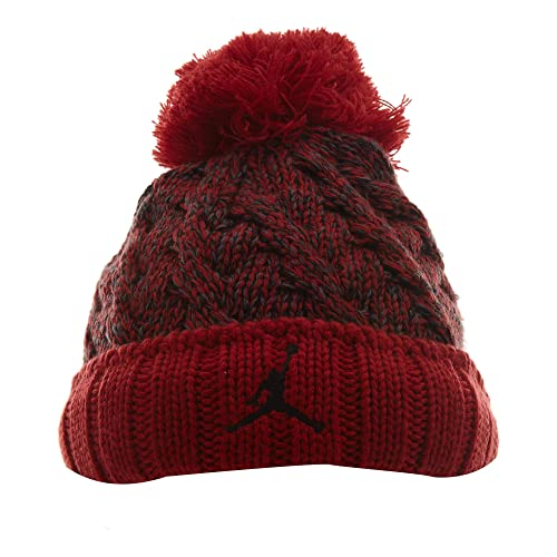 0850025ccac917 ... pom beanie hat 8 20 black 3720e coupon code for amazon jordan mens  jumpman cable beanie hat red one size sports outdoors 5d29b low cost nike  ...