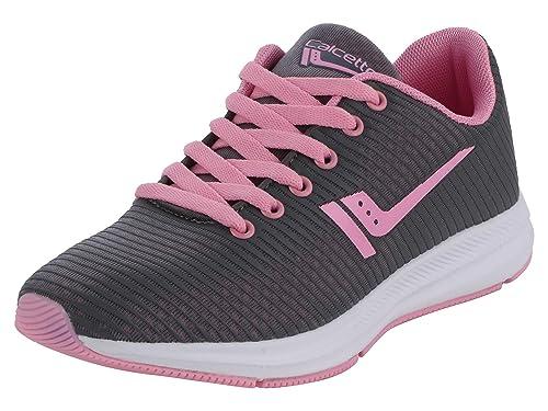 Buy calcetto Womens Dark Grey Pink