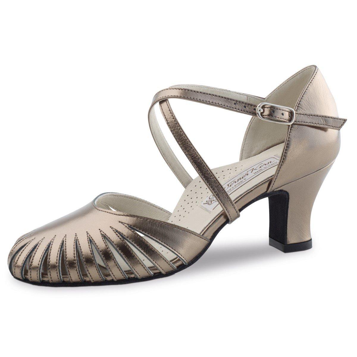 Werner Kern Femmes Chaussures de Danse Murielle - Cuir Antique - 6 cm Murielle 6