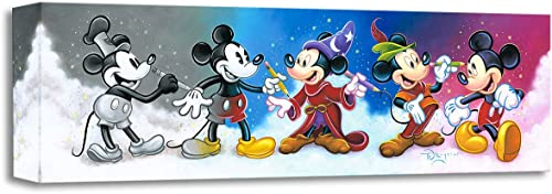 Disney Fine Art Mickey's Creative Journey