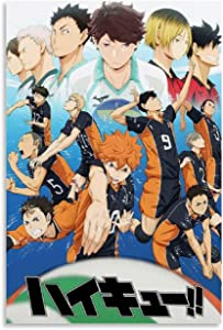 LINXIN Anime Haikyuu Canvas Art Poster and Wall Art Picture Print Modern Family Bedroom Decor Posters 08x12inch(20x30cm)