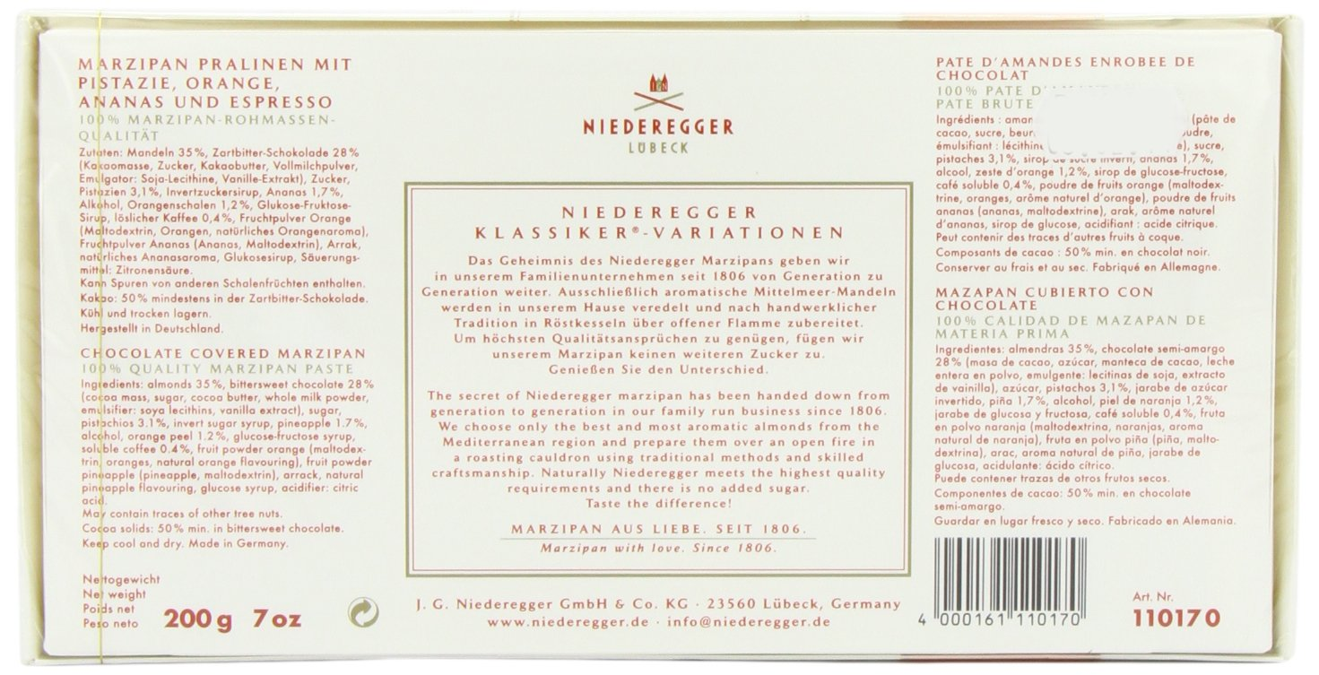 Niederegger Classic Marzipan Variations - 200 g/7.0 oz by Niederegger (Image #4)