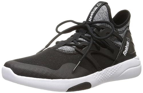 Reebok Women's Hayasu Cross-Trainer Shoe, Black/Shark/White, ...