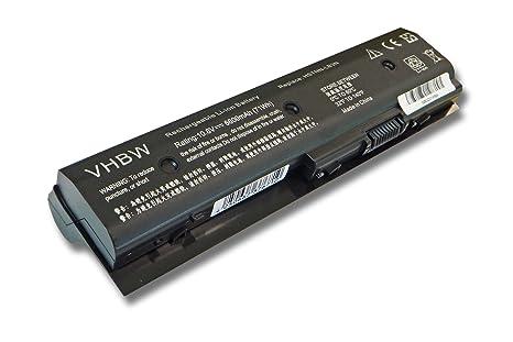 vhbw Li-Ion batería 6600mAh (11.1V) para Notebook HP Pavilion DV6-