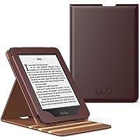 Capa Novo Kindle Paperwhite a prova D'água WB ® Premium Vertical Auto Hibernação (Marrom)