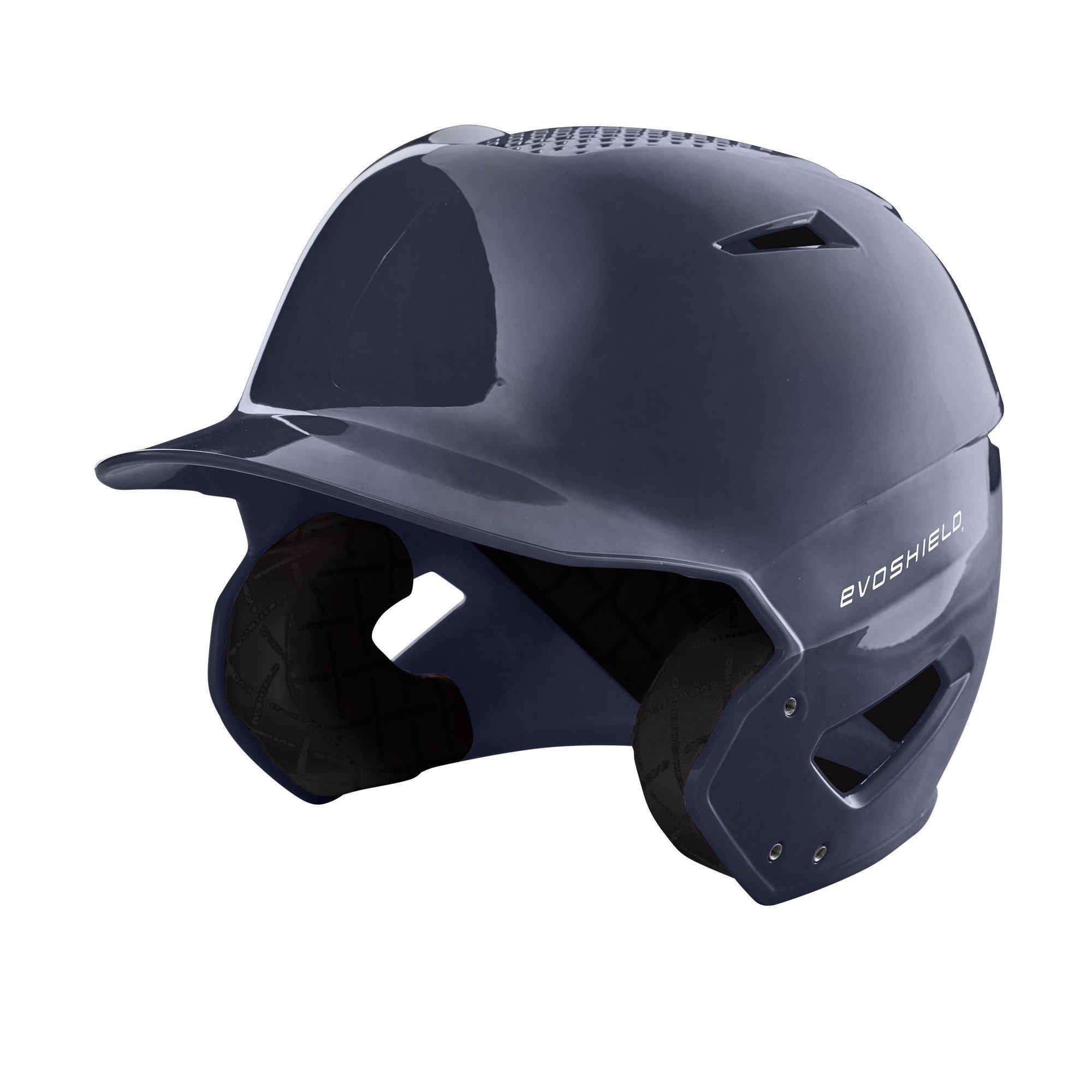 EvoShield XVT Batting Helmet, Navy - L-XL