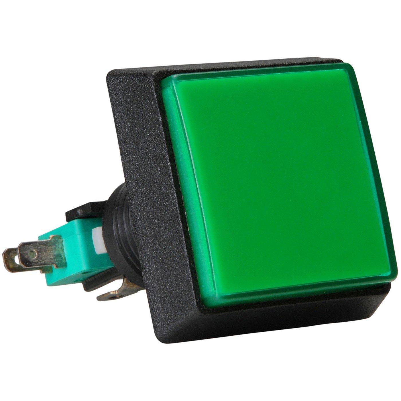 Parts Express SPST Automotive Rocker Switch w//Green LED 12V