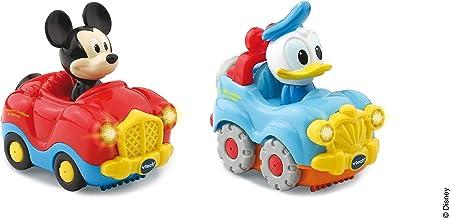 Los Tut Tut Bolides a los colores de Mickey, Minnie y sus amigos.,De adorables pequeños vehículos pa