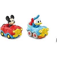 Vtech – TTB – Donald – Mickey Mouse Convertible Duo + 4x4 Box Interactive Toy – Multicoloured 406505