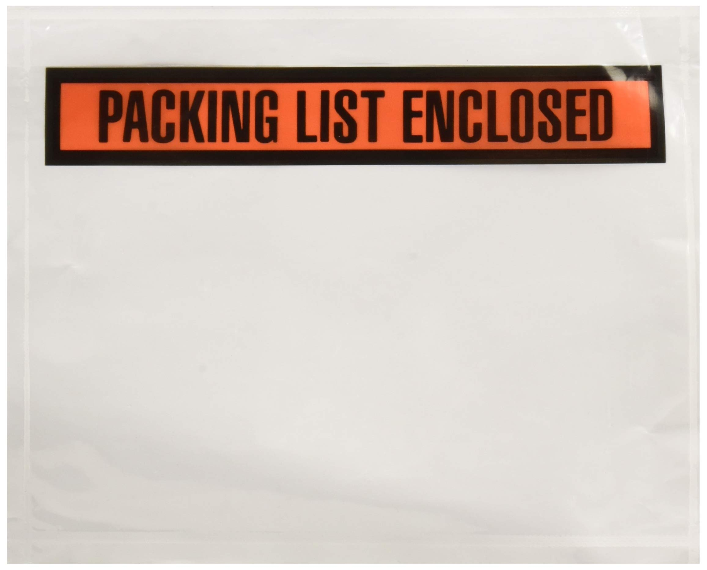 Sales4Less Packing List Envelopes 7.5'' X 5.5'' Pouches Invoice Enclosed Adhesive Bags Pack of 500 by SALES4LESS