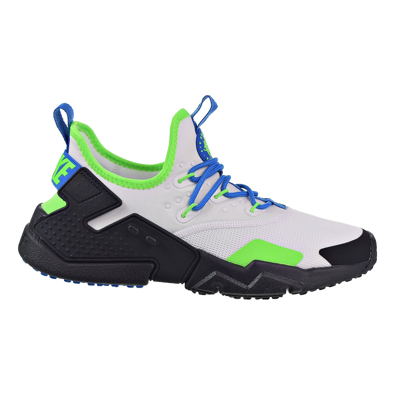 1c2346c0b68 Galleon - Nike Air Huarache Drift Men s Shoes White Black Blue Nebula  Ah7334-102 (9 D(M) US)