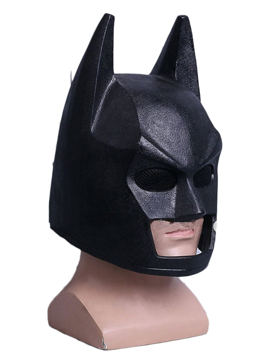 Cosplay Máscara Batman Casco Máscara Cosplay Halloween Cos Mask Casco Props,LegoBatmanHelmet-OneSize: Amazon.es: Hogar