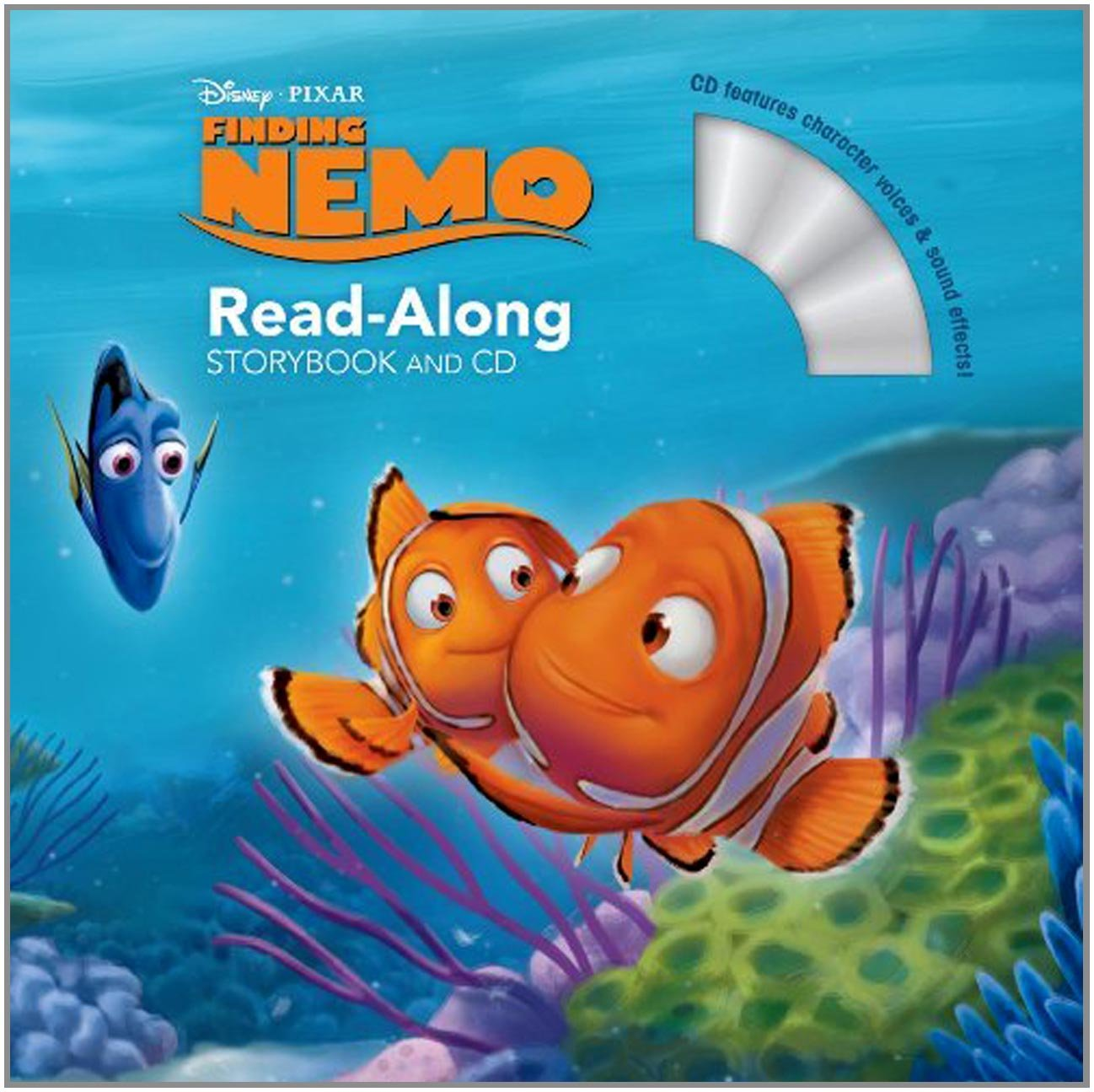 Finding Nemo Read Along Storybook And CD Disney Book Group Art Team 9781423160281 Amazon Books