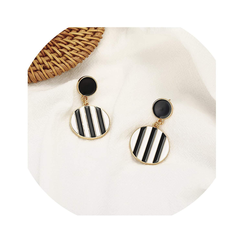 Newest Fashion Women Stud Earrings Unique Design Geometric Ear Jewelry