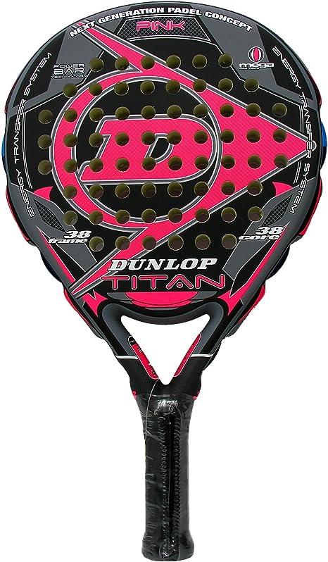 Pala de pádel Titan Dunlop, Rosa (Pink): Amazon.es: Deportes y ...