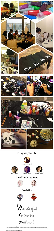 Wen Hand Painted Design Shoes Original Chocolate Dessert Unisex Canvas Sneakers