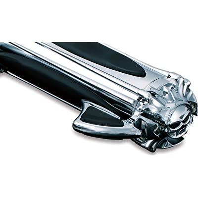 Kuryakyn 6286 Motorcycle Handlebar Accessory: Zombie Skull Throttle Boss, Chrome, Pack of 1: Automotive
