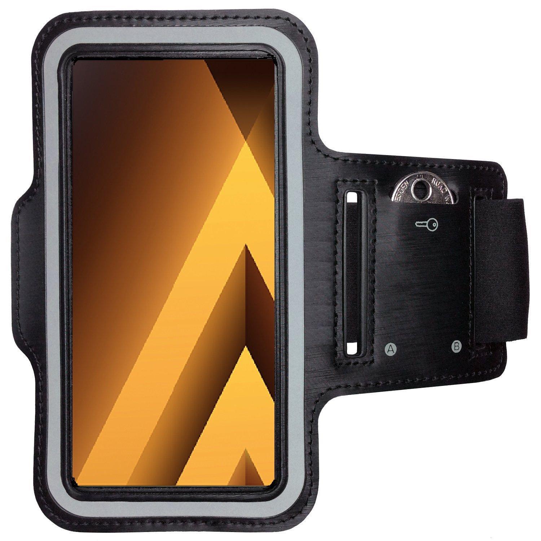 CoverKingz Color Negro Funda para Samsung Sportarmband con Compartimento para Llaves