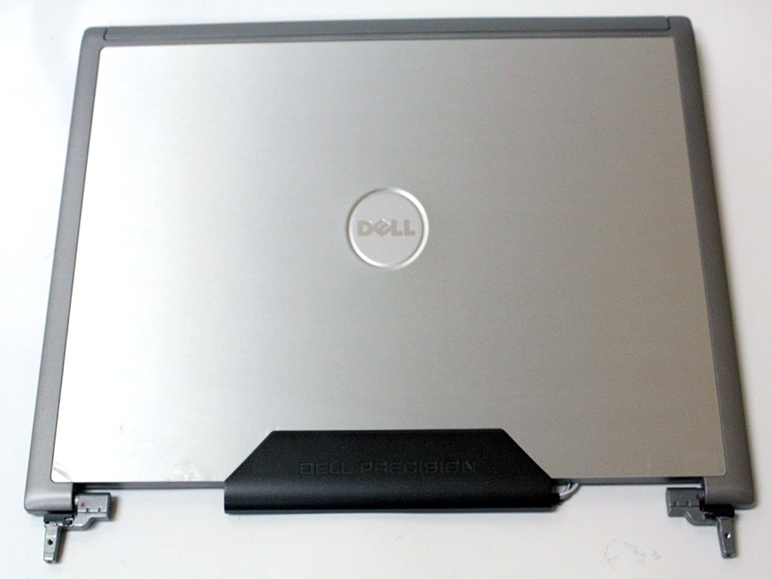 "JD109 - Dell Precision M65 M4300 15.4"" LCD Back Top Cover Lid Plastic Assembly w/ hinges - JD109 - Grade B"