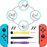 [New Version] Latches for Nintendo Switch Joy-Con,Lock Buckles Repair Tool Kit for Switch Joy-Cons with Screwdrivers and Tweezer