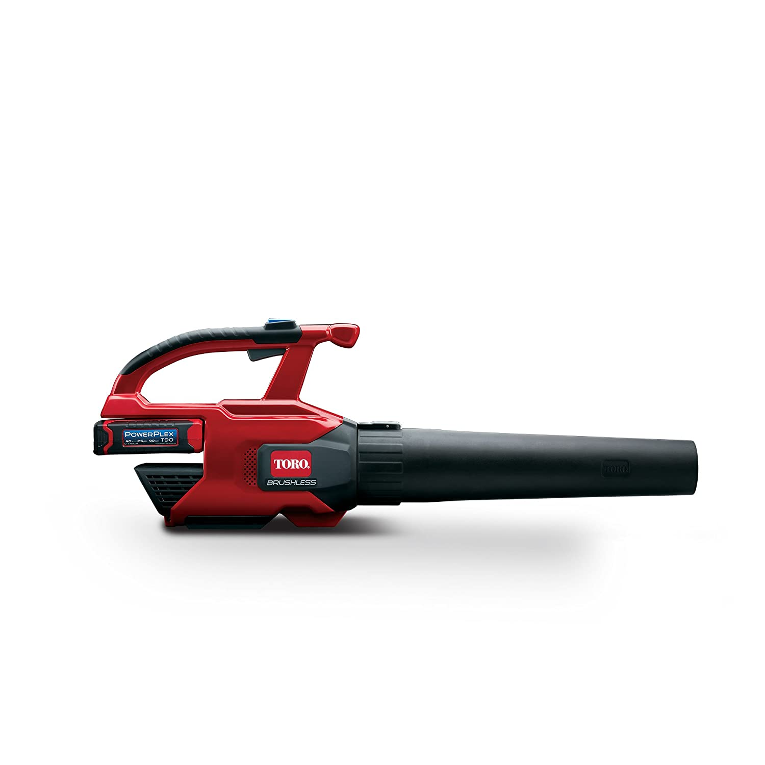 Toro Powerplex 51690 Brushless 40v Max 480 Cfm 150 Mph Power 400 Wiring Diagram Blower Cordless 25 Ah Battery Charger Included Garden Outdoor
