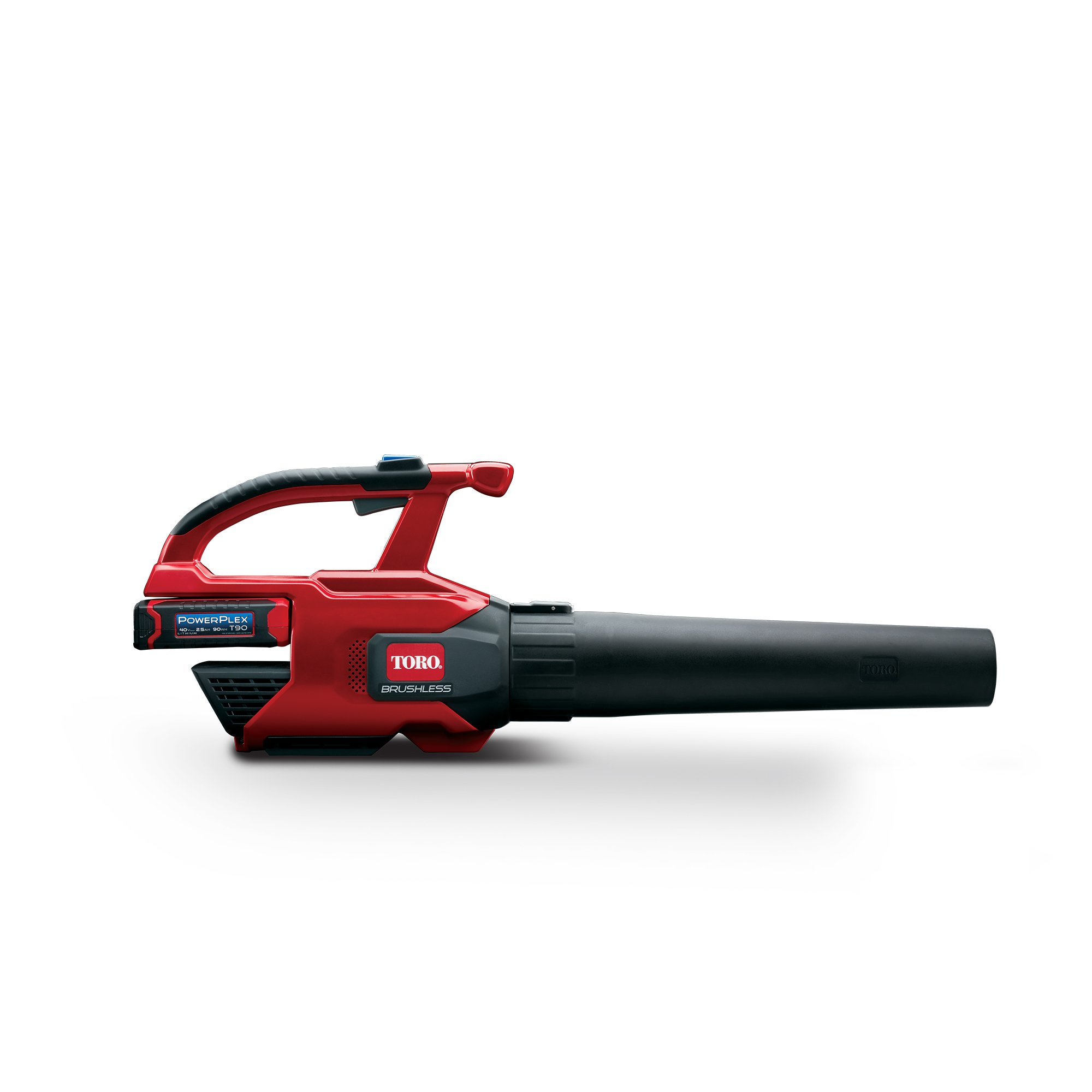 Toro PowerPlex 51690 Brushless 40V MAX 480 CFM 150 MPH Cordless Blower, 2.5 Ah Battery & Charger Included