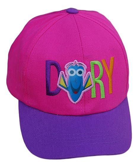 4064a2bade762 Amazon.com  Kids Disney Pixar Finding Dory Pink   Purple Baseball Cap - Adjustable  Strap  Clothing