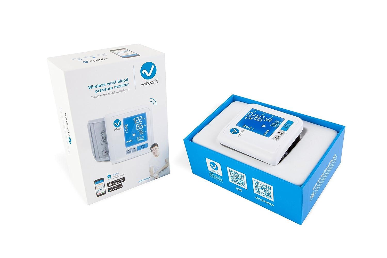 Tensiómetro inalámbrico de muñeca - Bluetooth: Amazon.es: Salud y cuidado personal