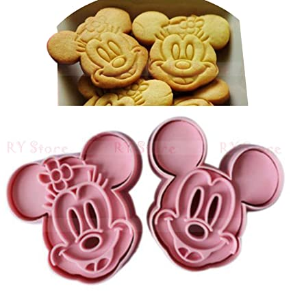 Buy niceeshopTM 1Set2PcsCute Mickey Minnie Mouse Decorating